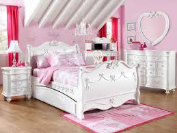 youth bedroom sets girls:  furniture design with drawers under bedroom special valentines decoration for your childrens attic bedroom ideas with alight pink and white