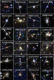 <b>Mosaic</b> of arc+lens systems confirmed in this paper. Each lensed ...
