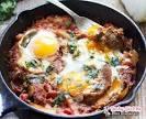 Рецепты вкусной яичницы с помидорами