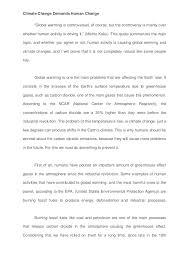 essay global warming tagalog
