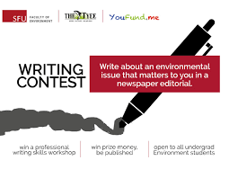 student environmental oped writing contest faculty of student environmental oped writing contest faculty of environment simon fraser university