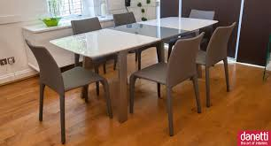 Grey Dining Room Table Sets Minimalist Room With Wooden Extendable Dining Table Also Chairs