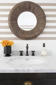 photos hgtv round mirror and striped bathroom walls home decorators coupon home decor stores architectural mirrored furniture design ideas wood