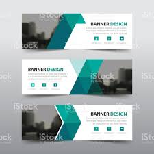 green abstract triangle corporate business banner template green abstract triangle corporate business banner template horizontal advertising business banner layout template flat design