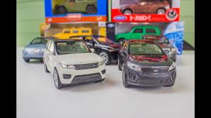 Крутые машинки Джипы <b>Welly</b> и Kinsmart два Range Rover Lexus ...