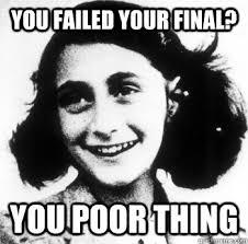 Conceding Anne Frank memes | quickmeme via Relatably.com