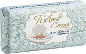 <b>Косметическое мыло</b> твердое <b>Ti</b> Amo Crema c экстрактом ...