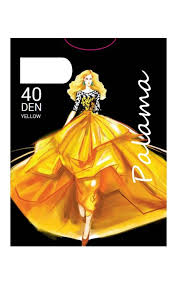 <b>Колготки PALAMA Yellow</b> 40 bronz размер 4 бледно-коричневый ...