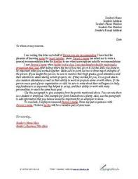 Sample Character Witness Letter      Download Free Documents in     The Balance Teacher Assistant Recommendation Letter Sample