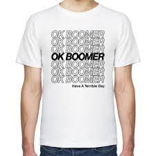 Футболка Ok <b>Boomer</b> Окей, бумер купить на Printdirect.ru ...