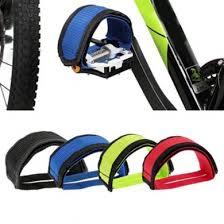 Yosoan <b>1Pair Bicycle Cycling</b> Nylon Anti-slip <b>Pedals</b> Foot Cover Toe ...