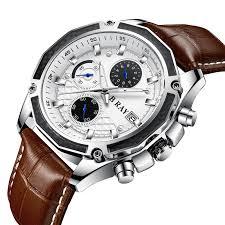 China B Ray 9005 Hot Selling Military Sport <b>Watch Men</b> Leather ...