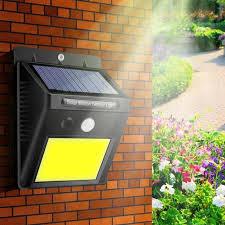 COB 48 LED Solar Light Motion Sensor <b>Solar Led Wall Lamp</b> ...