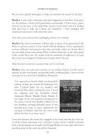 literature fiction interviews volume ii