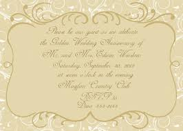 anniversary invitation the essential item to celebrating a anniversary invitations templates
