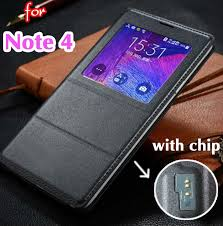 Best Offers samsung note 4 view <b>leather</b> flip <b>cover</b> brands and get ...