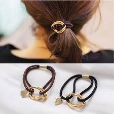 M MISM 1PC Top Sale Cute Simple Punk style Elastic Hair ... - Qoo10