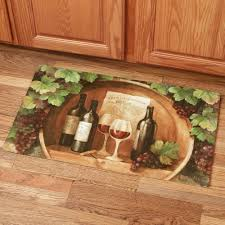 grapes grape themed kitchen rug: image of tuscany grape kitchen decor