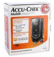 <b>Глюкометр Accu-Chek Mobile</b> - цена 4390.00, купить с доставкой ...