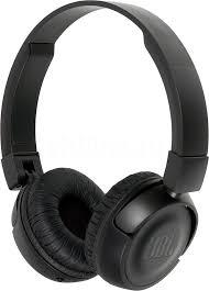 Купить <b>Наушники с микрофоном JBL</b> T450BT, Bluetooth, черный в ...