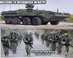 army stryker memes | quickmeme via Relatably.com