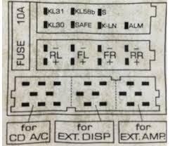 1998 vw beetle audio wiring radio diagram schematic colors 1998 beetle radio pinout