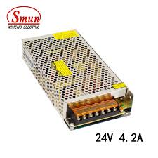 Smun <b>S</b>-<b>100</b>-24 110V/220V to <b>24V</b> 4.2A 100W <b>Switching Power</b> ...