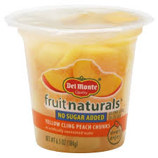Fruit Naturals Yellow Cling in <b>Artificially</b> Sweetened Water Peach ...