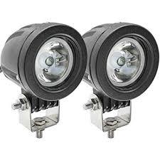 Motorcycle LED Spot Lights,<b>10W</b> Motorbike Front Lights Driving ...