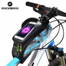 <b>ROCKBROS</b> Top Tube Bag Road <b>Bike</b> Frame Bags Portable <b>Bicycle</b> ...