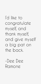 Dee Dee Ramone Quotes & Sayings