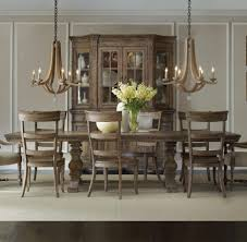 Trestle Dining Room Sets Dining Room Divine Trestle Table Sets With Rustic Wood Cabinet