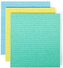 Full Circle Reusable Cellulose Sponge Clothes, 3 ... - Amazon.com
