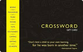 Crossword Gift Card - Rs.1000 : Amazon.in: Gift Cards