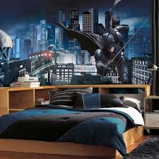 kids room decor themed with stylish wood bed kids room design also cool batman wall awesome kids boy bedroom furniture ideas