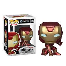 <b>Фигурка</b> Funko POP! <b>Marvel</b>: <b>Avengers</b> Game: Iron Man (Железный ...