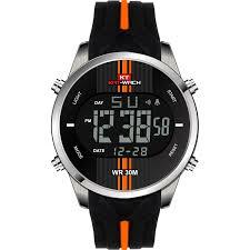 KAT WACH Brand Sport Watch <b>Men</b> Waterproof Outdoor Silicone ...