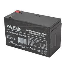 <b>ALFA Battery</b> FB 7,2-12 (12 В, 7,2 Ач / <b>12V</b>, 7.2Ah)