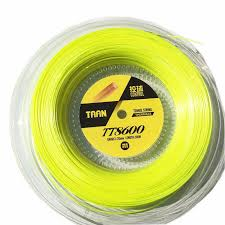 <b>1 Reel TAAN</b> TT8600 Control Tennis strings polyester 6 angle hard ...