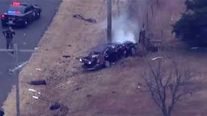 Oklahoma <b>car</b> chase: High-<b>speed</b> police pursuit ends in smash ...