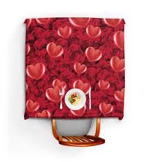 """Скатерть квадратная """"Сердечки и розы"""" #1896247 от nadegda ..."""
