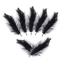 400pcs White <b>Natural Goose</b> Feather Plumes DIY Accessories for ...
