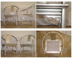 asian inspired silver leaf asian chairs asian inspired furniture