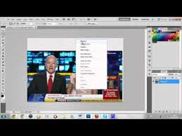 How to make a Sky Sports News style Border Tutorial - Photoshop ...