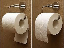 Вот как правильно вешать туалетную бумагу! Я и не знал, что ...