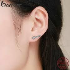 Hosaire 1 Pair <b>Fashion</b> Charm Elegant <b>Square Diamond</b> Earrings ...