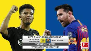 Borussia Dortmund vs. Barcelona: UEFA Champions ... - Bundesliga
