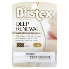 <b>Blistex Deep Renewal</b> 0.15 oz. SPF 15 Anti-Aging Lip Protectant ...