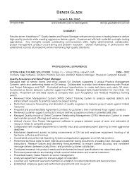 healthcare account manager  s health care quality manager    healthcare resume