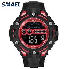 <b>Digital</b> Wristwatches Waterproof SMAEL <b>Watch Men Watches Digital</b> ...